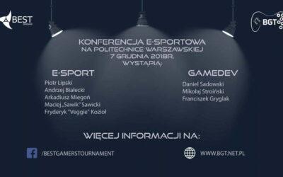 Konferencja Esportowa na Politechnice Warszawskiej