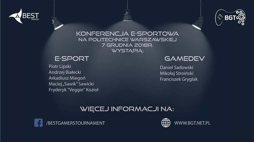 Konferencja Esportowa naPolitechnice Warszawskiej